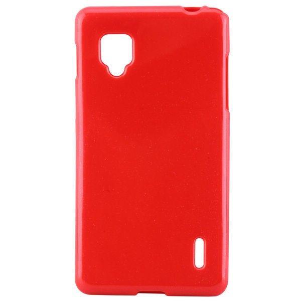 Glitter (Rød) LG Optimus G E973/E975 Deksel