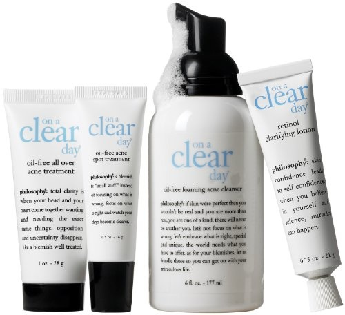 Philosophy Completely Clear Skincare System, Set $165Acne Products, Clear Skincare, Favorite Products, Befin Skincare, Skincare System, Complete Clear, Perfect Products, Skincare Products, Philosophy Complete