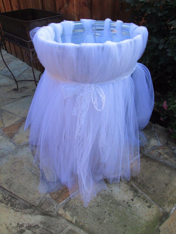 Wedding trash cans | Wedding ideas | Pinterest | Wedding