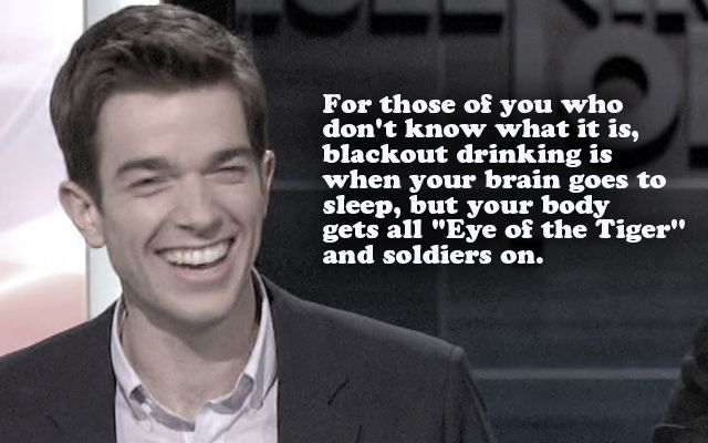 He speaks like he's from '40s and looks like he's still in high school, yet John Mulaney is one the sharpest comedians of this generation, as these jokes will attest.