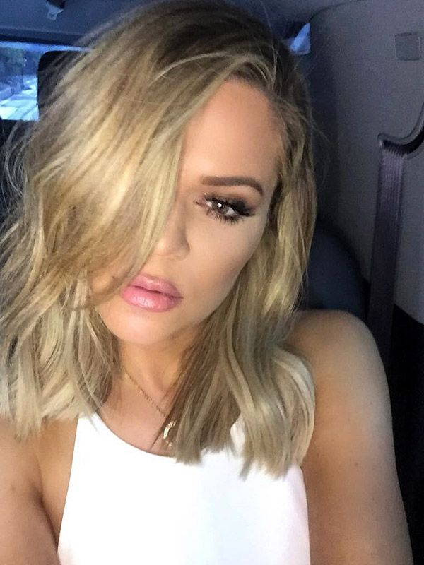 Khloe Kardashian has a long bob haircut! Click ahead for exclusive details on the cut from hairstylist Jen Atkin