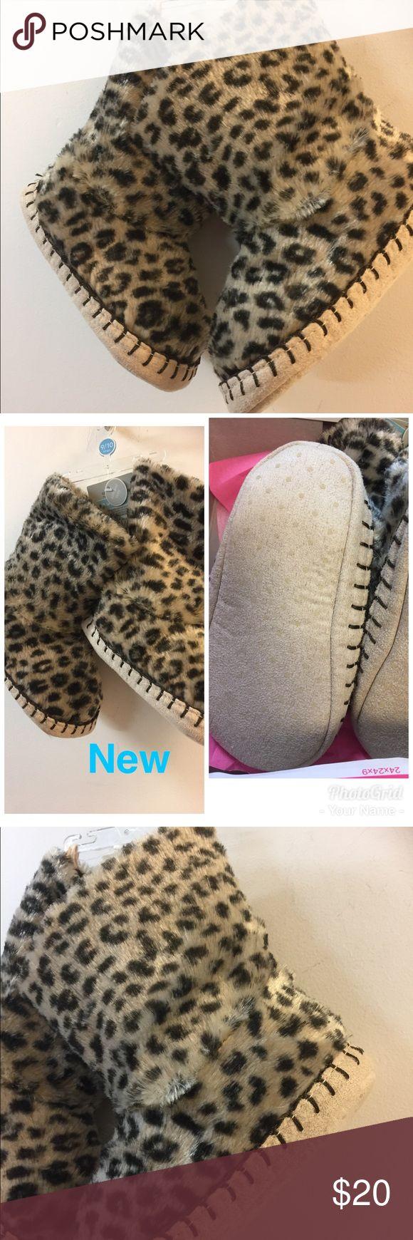 Faux fur soft slipper toddler sleepwear Very soft and cozy Faux fur soft slipper toddler sleepwear Carter's Shoes Baby & Walker