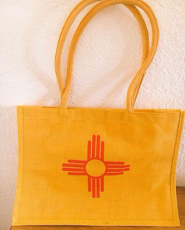 New Mexico Flag Tote Bag.