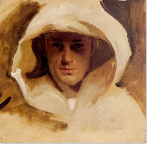 John Singer Sargent - Portrait of Major George Conrad Roller Painting
