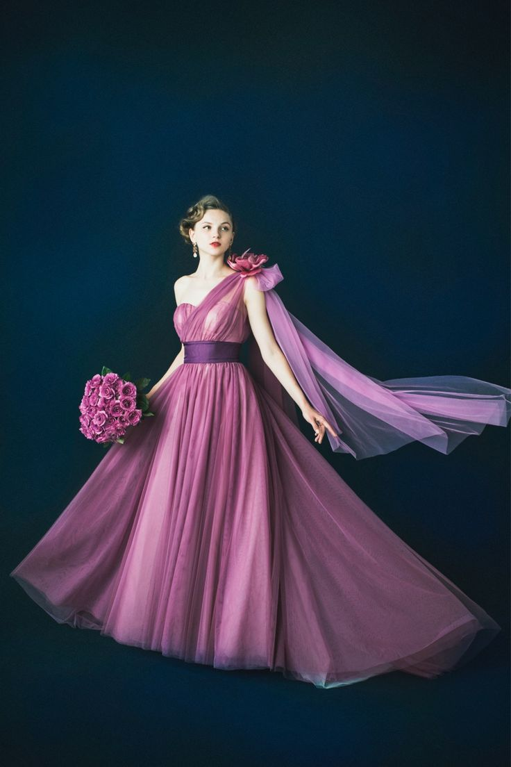 BTNV172 #NOVARESE #parple #dress #weddingdress #wedding #tuxedo #ノバレーゼ #パープル #紫 #カラードレス #タキシード #ウエディング