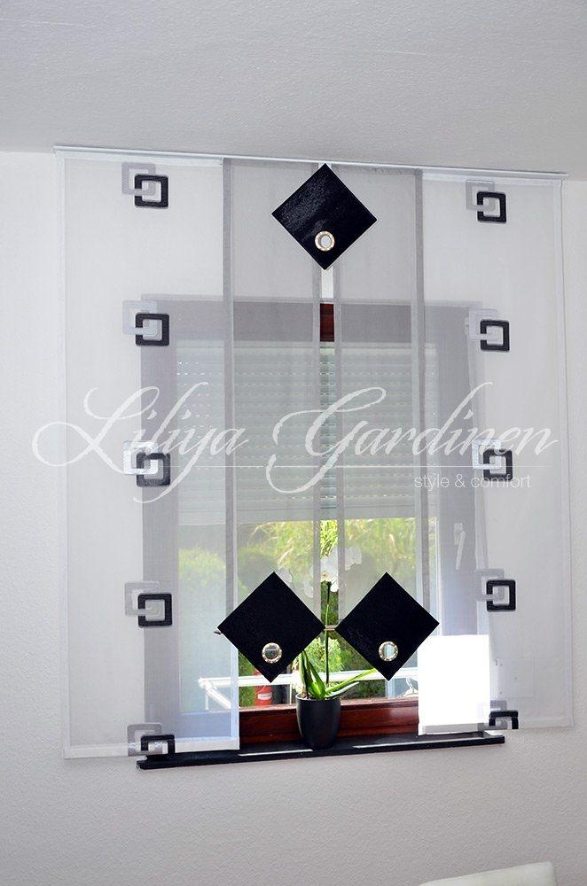 scheibengardinen nach ma my blog. Black Bedroom Furniture Sets. Home Design Ideas