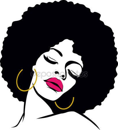 Black women hair Stock Photos, Illustrations and Vector Art | Depositphotos®