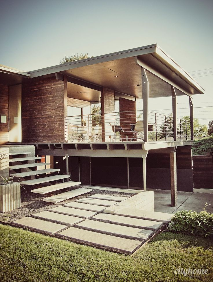 Lovely Warm Mid Century Modern Home Salt Lake City