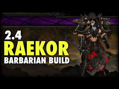Diablo 3 - 2.4 Raekor Barbarian Build for Season 5 - http://timechambermarketing.com/uncategorized/diablo-3-2-4-raekor-barbarian-build-for-season-5/