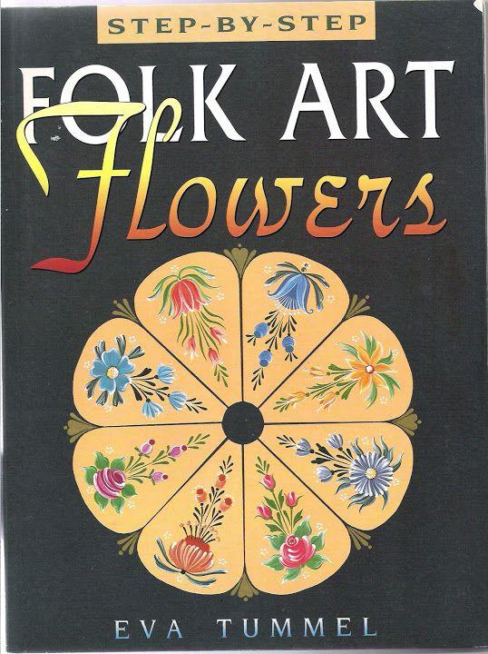 step-by-step Folk ART Flowers - Oksana Volkova - Веб-альбомы Picasa