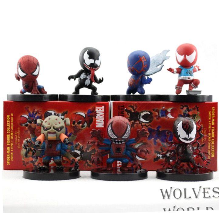Spiderman Venom Collectible Figures 7pcs/set //Price: $25.00 & FREE Shipping //     #avengers #justiceleague #superman #spiderman