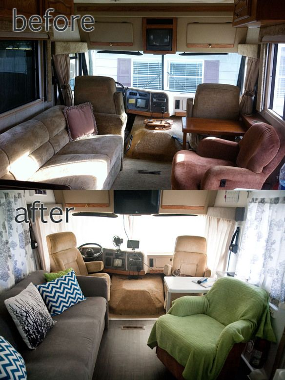 RV / Motorhome Interior Remodel | Not All Those Who Wander.