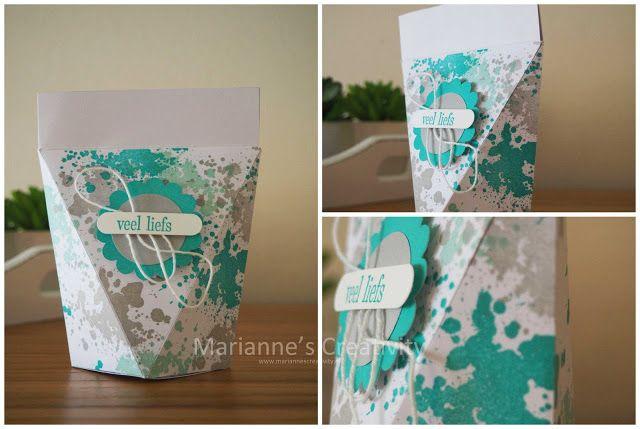 Marianne's Creativity: 3D donderdag zelf sluitend doosje