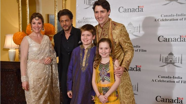 The Canadian prime minister has been wearing traditional Indian attire at every possible opportunity.