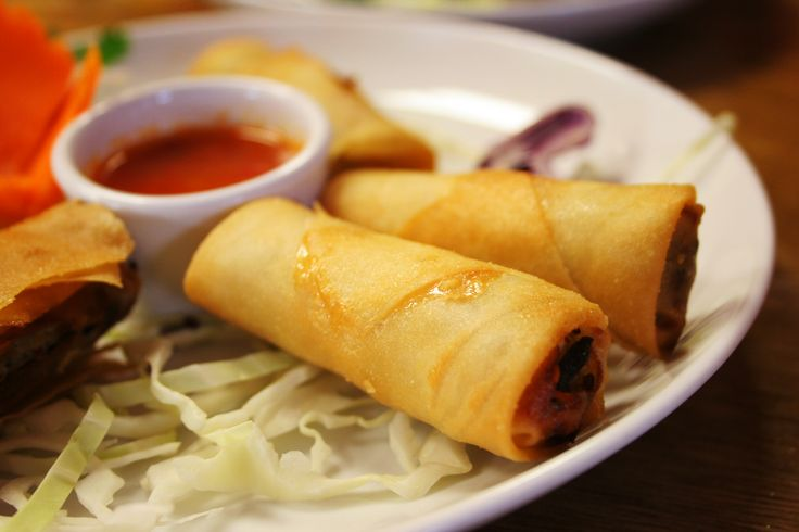 Chutney Merry Famous Spring Rolls at Chummuch