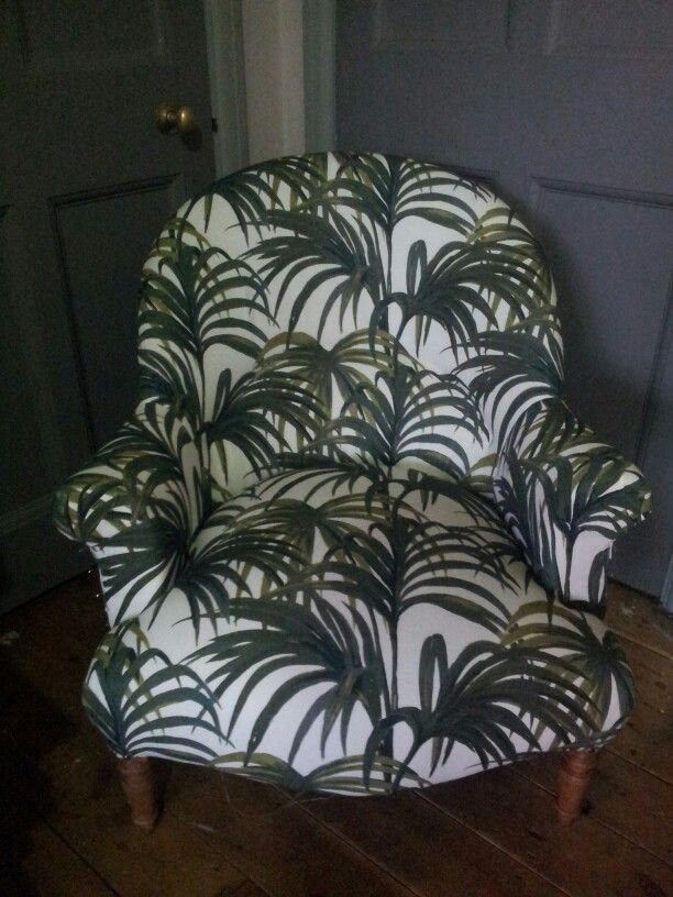 Crapaud chair in House of Hackney fabric