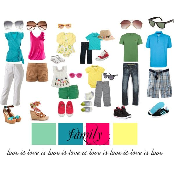 what to wear for summer family photos 2014 - Google Search