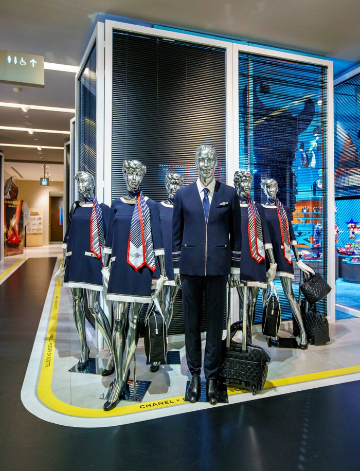 Chanel Airline-Themed Pop-up Lands At Pedder on Scotts Singapore