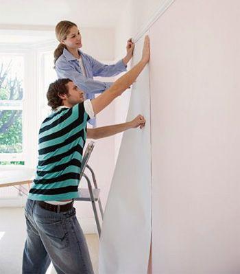 Paso a paso básico para empapelar paredes