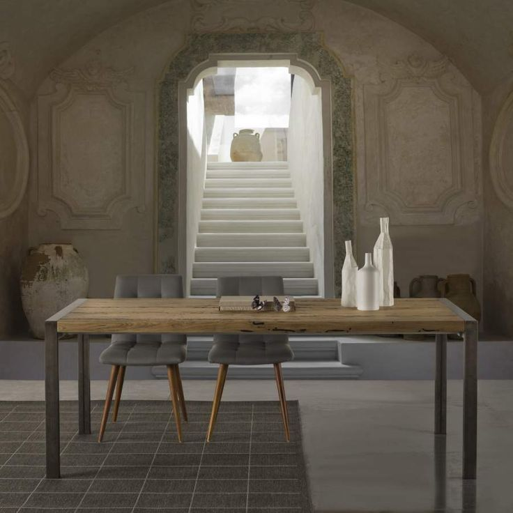Wooden design table