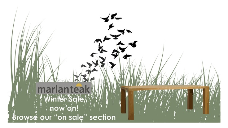 Created for marlanteak's (Suppliers of the finest outdoor furniture in South-Africa) Winter sale announcement ..
