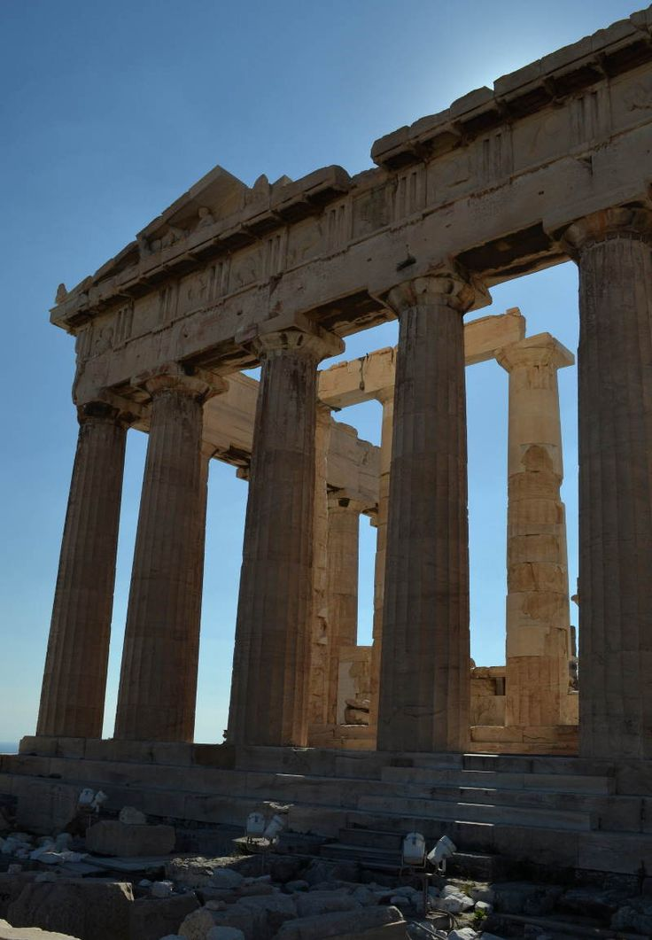 Greek Parthenon in Athens - 1 on the bucket list done