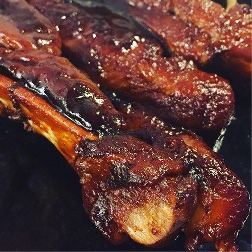 smokey barbeque ribs