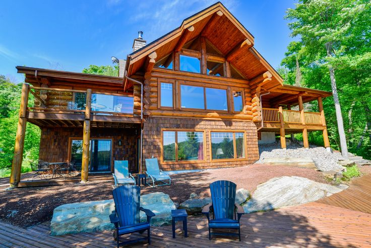#luxury meets #nature. #muskoka #cottage #property #forsale #realestate Immerse yourself in picture perfect peace and tranquility! #lifeisbetteratthelake #investinstyle