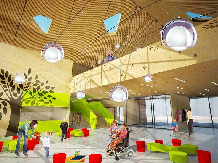 620 best Modern School Interior and Educational Environments ...