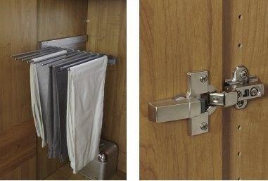Stylform CHLOE - Solid Oak Hinged Door Wardrobe - Head2Bed UK