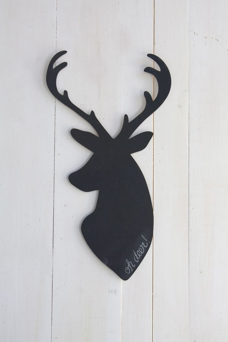 Deer Chalk Decal