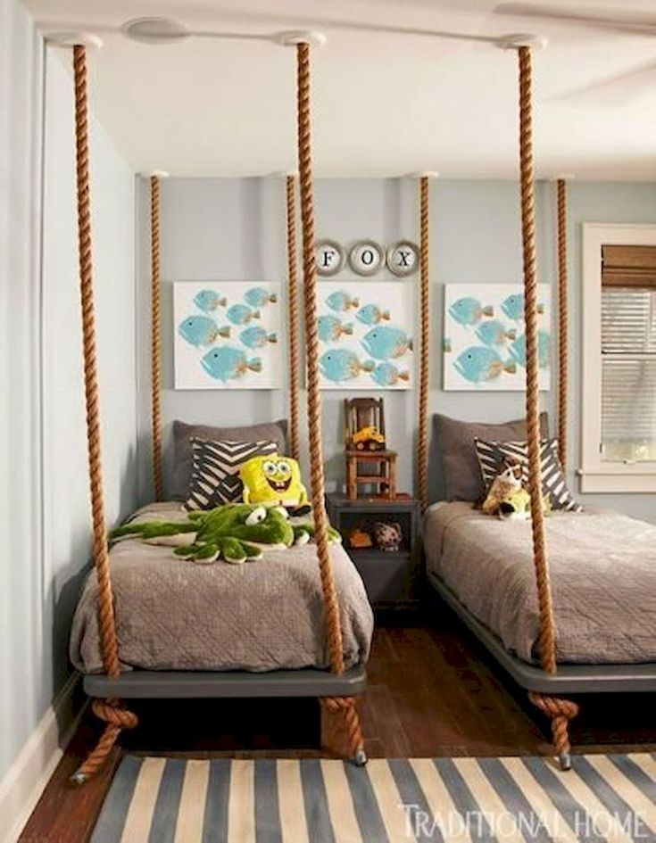 53 Twin Beds Design Ideas That Make Your Twins Children ...