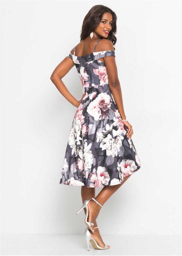 Carmen-Kleid mit Blumenprint in 2020 (mit Bildern ...