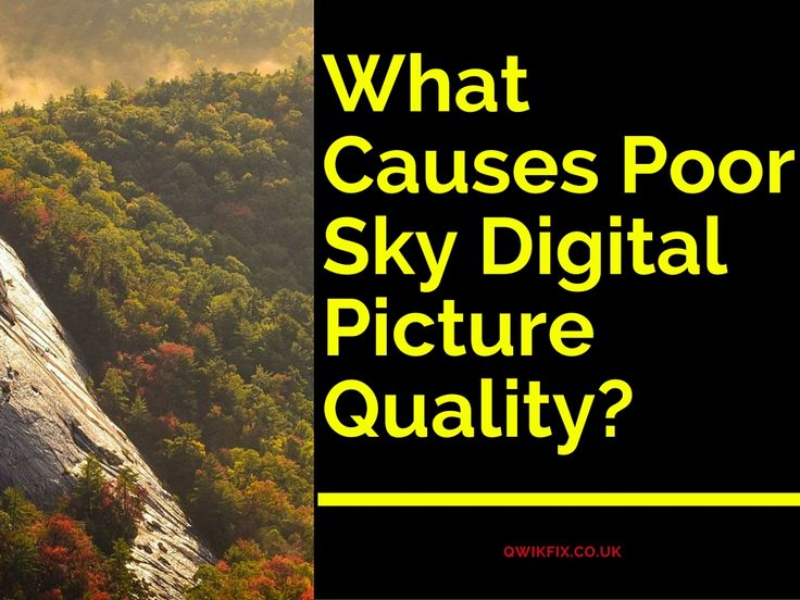 If you are having poor picture quality on your Sky tv, then it may be due to the following reasons. #Sky Picture Quality, #Poor picture on RF2 output, #Sky 2TB HD picture quality poor, #Poor HD Picture Quality, #sky hd poor picture quality, #sky picture quality getting worse