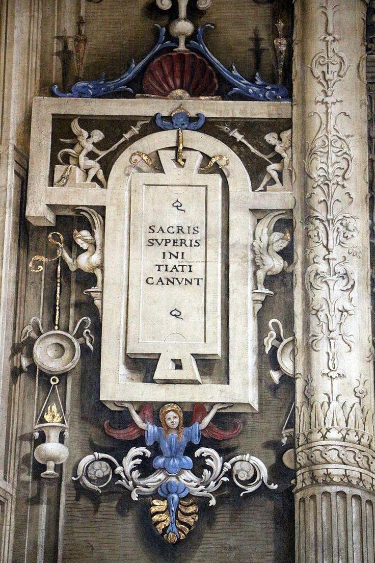 Filippino Lippi - Tabella - affresco - 1489-95 - Cappella Filippo Strozzi - Basilica di Santa Maria Novella, Firenze