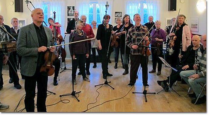 Svärdsjö Spelmanslag- folk music group is performing at the fantastic Stockholm Folk Festival #folkmusik #stockholmfolkfestival  www.stockholmfolkfestival.se