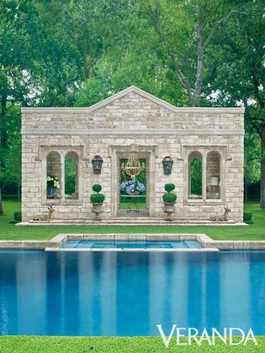 Great Example Of Symmetry With This Pool #design #architecture