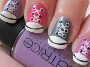 Gympies NailArt ~ Stap voor stap! on http://www.beautynailsfun.nl/2012/03/gympies-nailart-stap-voor-stap/