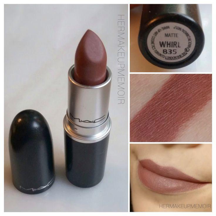 Mac Whirl Lipstick !  #maclipstickwhirl
