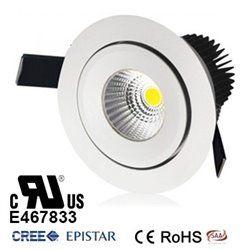 7W COB LED Ceiling Down light lamp bulb UL