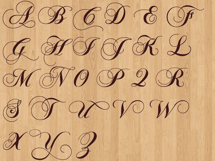 английский алфавит красивым шрифтом фото точнее