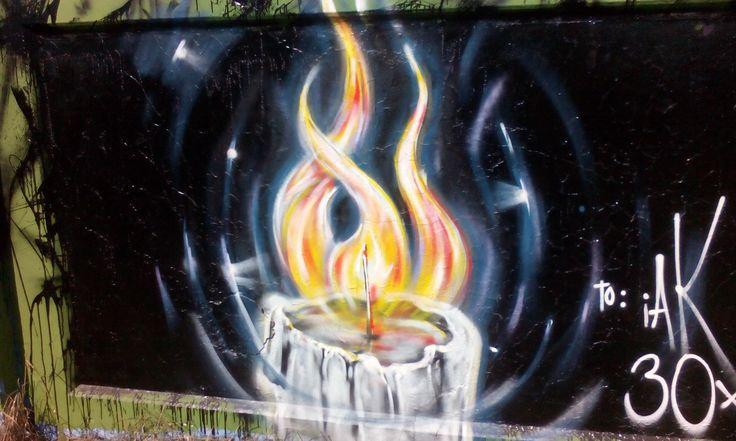 My hometown graffiti photo no.1
