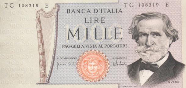 <p>Giuseppe Verdi, Maria Montessori e Marco Polo. Chi si ricorda su quali banconote venivano ritratti? </p>