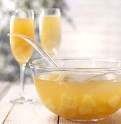 Punch pétillant à l'ananas