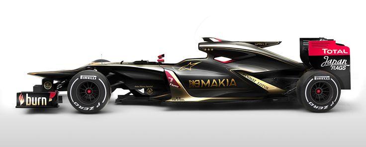 formula 1 boat design