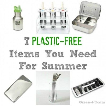 7 Plastic Free Items You Need For Summer