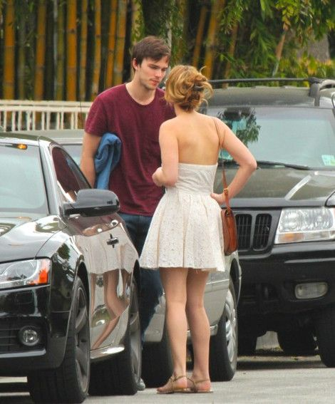 Jennifer Lawrence and her boo, Nicholas Hoult