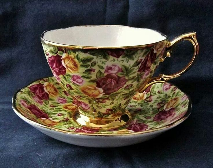 Old country rose chintz