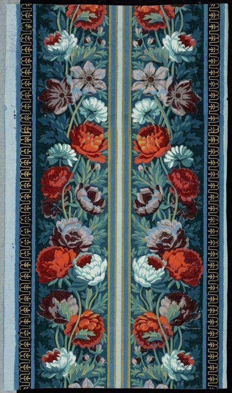 papier peint, bordure | Centre de documentation des musées - Les Arts Décoratifs