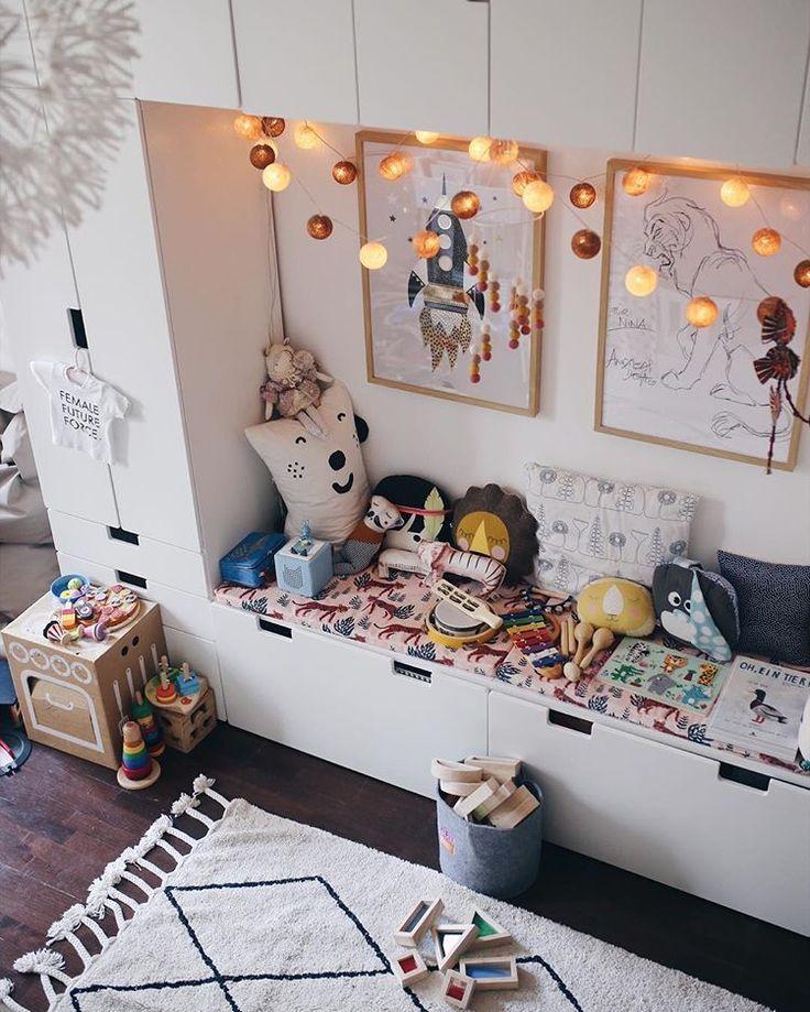 Werbung Unbeauftragt Ich Wurde Schon Ofters Auf Unseren Stauraum In Gretasund Kleines Kinderzimmer Einrichten Kleine Zimmer Kinderzimmer Einrichten